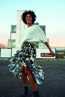 Arlette Skirt Paper Pattern