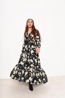 Pola Dress Paper Pattern